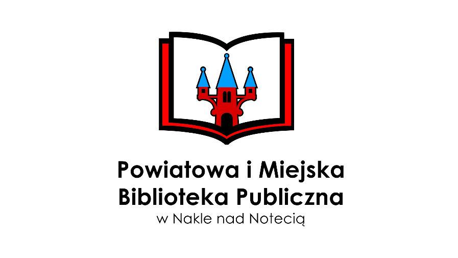 Logo Powiatowej i Miejskiej Biblioteki Publicznej w Nakle nad Notecią