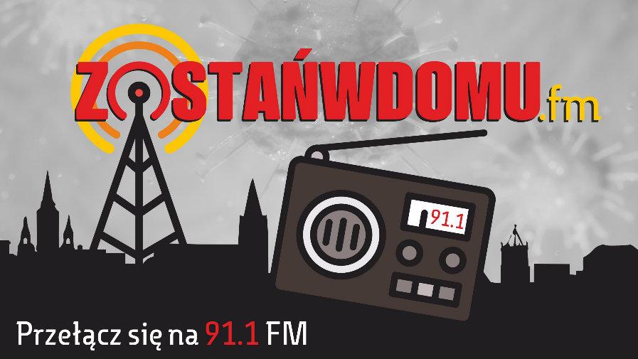 ZOSTAŃWDOMUfm już na 91.1 FM!
